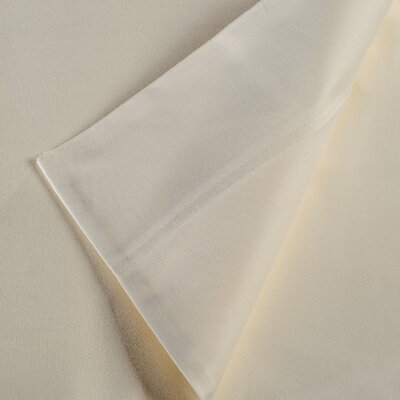 300 Thread Count Egyptian Quality Cotton Sheet Set Color: Ivory, Size: Queen