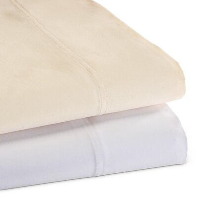 1500 Thread Count Egyptian Quality Cotton Sheet Set Size: King, Color: White