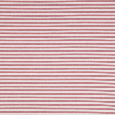 Yarn Dyed Stripe Sheet Set Color: Coral, Size: King