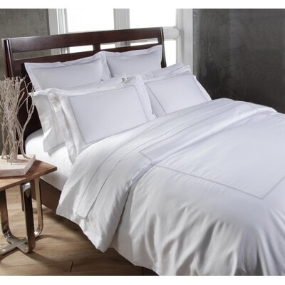 Circle Link 3 Piece Duvet Cover Set Size: King, Color: Platinum