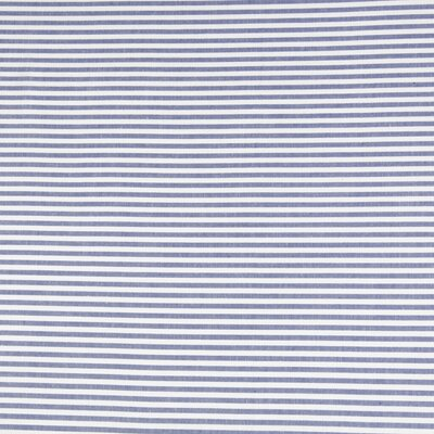 Yarn Dyed Stripe Pillow Case Color: French Blue