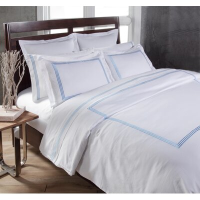 Stowe Sheet Set Color: Blue, Size: Cal King