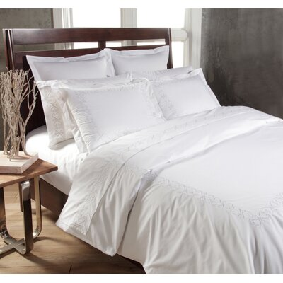 Swirl Sheet Set Size: King, Color: White