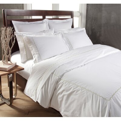 1200 Thread Count 100% Cotton Sheet Set Size: Queen, Color: White