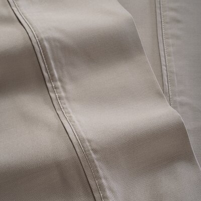 600 Thread Count 100% Tencel Sheet Set Color: Gray, Size: Twin