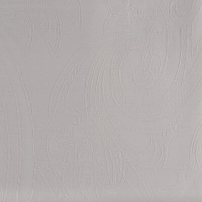 Paisley Woven Jacquard Pillow Case Color: Ivory, Size: King