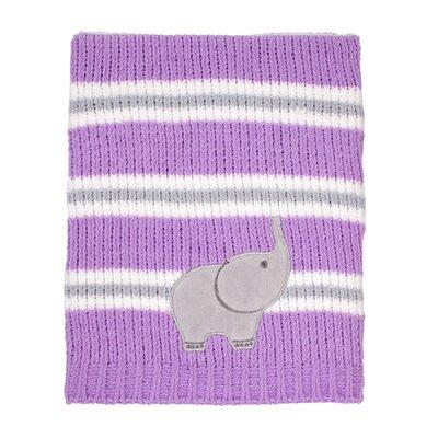 Emma Chenille Stripe Blanket 4841490