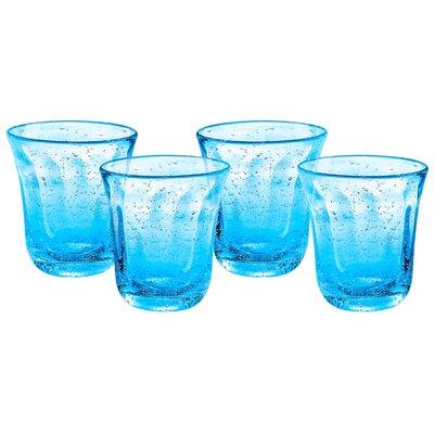 Savannah Bubble DOF Glass Finish: Blue 51208B