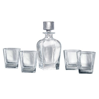 Allerdale 5 Piece Decanter Set