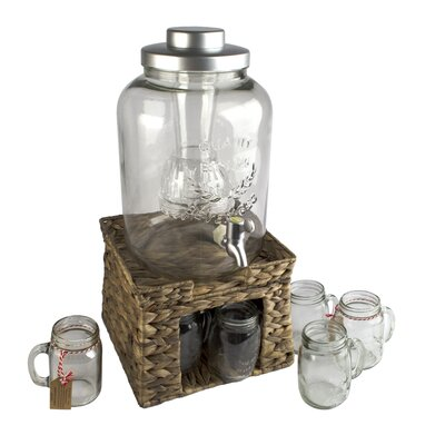 Garden Terrace 10-Piece Beverage Dispenser Set 10403SA