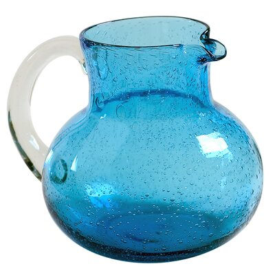 Iris Collection-iris Pitcher In Amber