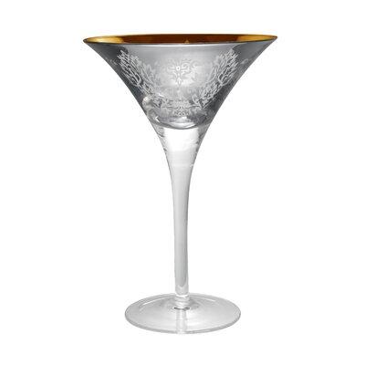Artland-brocade Goblet In Silver (set Of 4)
