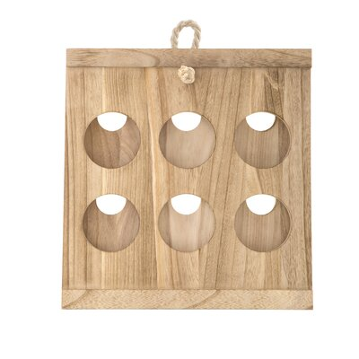 Azalee 6 Bottle Tabletop Wine Rack