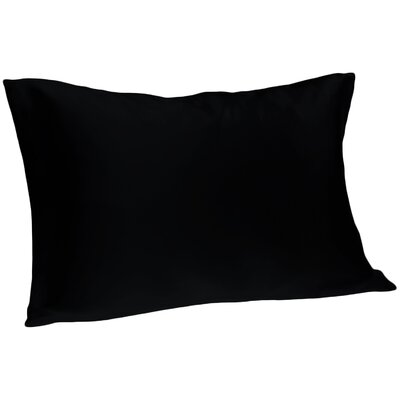 Dale Pillowcase Size: Queen, Color: Black