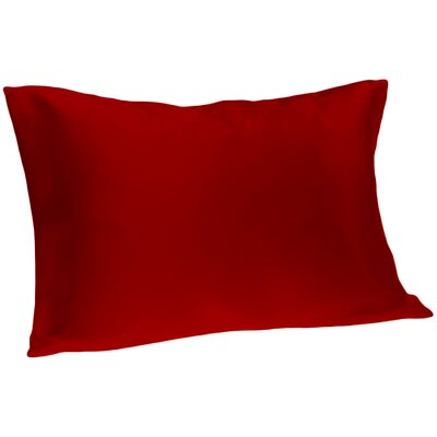 Dale Pillowcase Size: Queen, Color: Burg