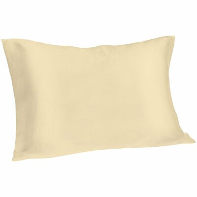 Dale Pillowcase Size: Queen, Color: Gold
