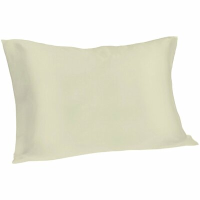 Dale Pillowcase Size: King, Color: Ivory