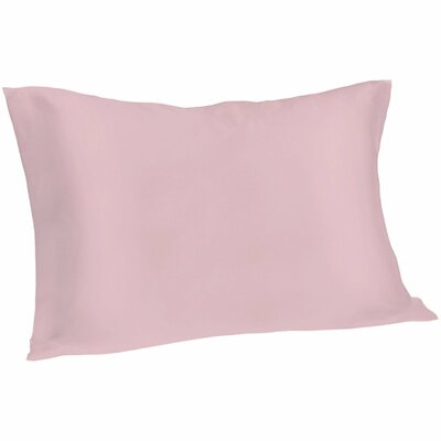 Dale Pillowcase Size: Queen, Color: Pink