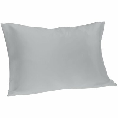 Dale Pillowcase Size: King, Color: Silver