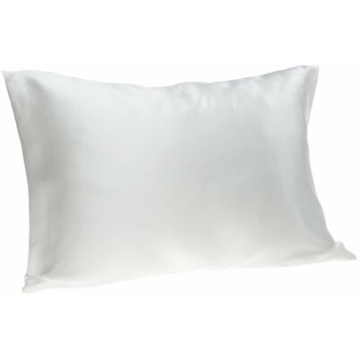 Dale Pillowcase Size: King, Color: White
