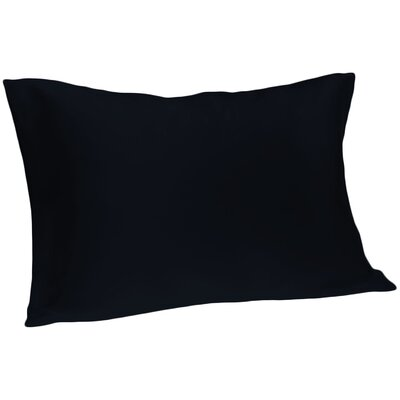 Dale Pillowcase Size: Queen, Color: Navy