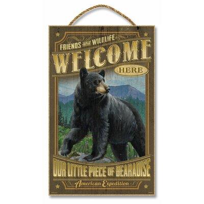 Black Bear Vintage Advertisement