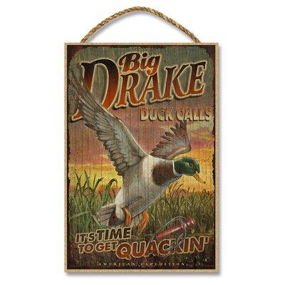 Big Drakes Duck Calls Vintage Advertisement