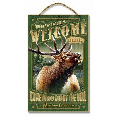 Elk Vintage Advertisement