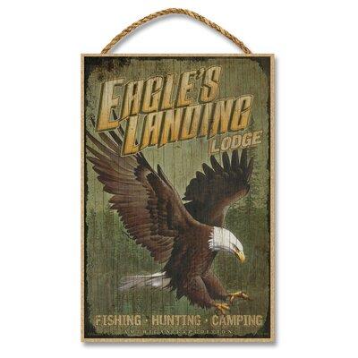 Eagles Landing Lodge Vintage Advertisement