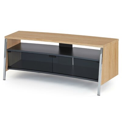 Tangent 51 TV Stand Color: Oak
