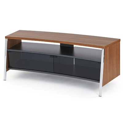 Tangent 51 TV Stand Color: Walnut