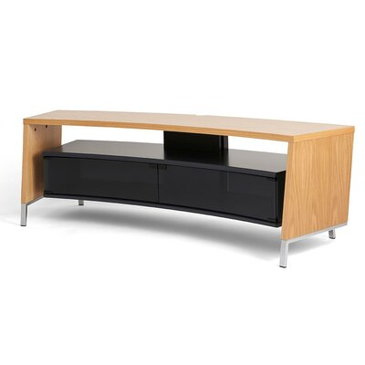 Curve 61 TV Stand Color: Oak
