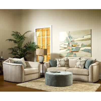 Sage Avenue D3575-0301D3022-09 Brooke 3 Piece Sofa Set