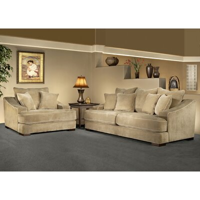 Sage Avenue D3687-0301 Cameron 2 Piece Sofa Set