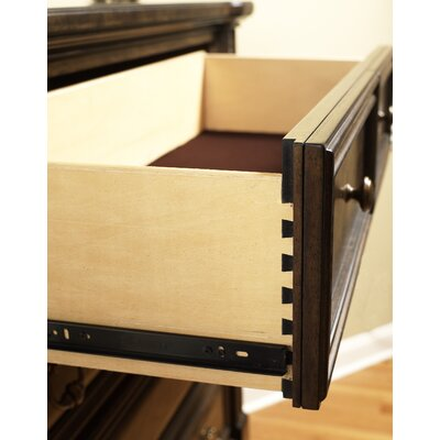 Alexander 5 Drawer Media Chest