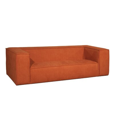 Rabbia Sofa Upholstery: Orange