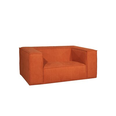 Rabbia Armchair Color: Orange