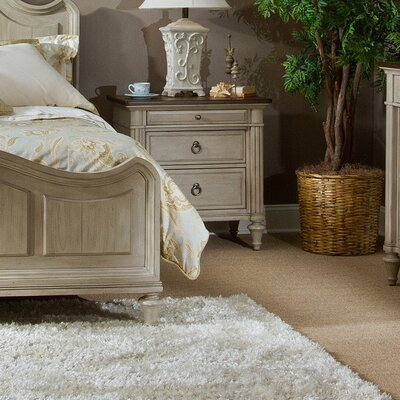 Napa Valley 3 Drawer Nightstand