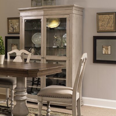Napa Valley Curio Accent Cabinet