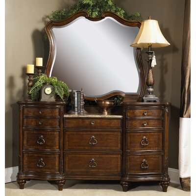 Downton Arched Dresser and Mirror