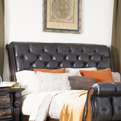 New Hampshire Upholstered Sleigh Headboard Size: Queen