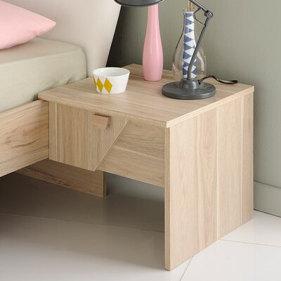 Swen 1 Drawer Nightstand