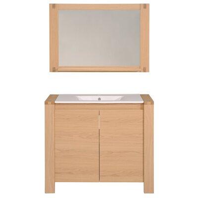Etna 40 Single Bathroom Vanity Set with Mirror