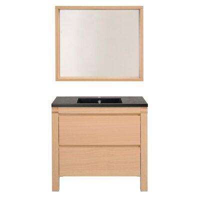Erwan 36 Single Bathroom Vanity Set with Mirror