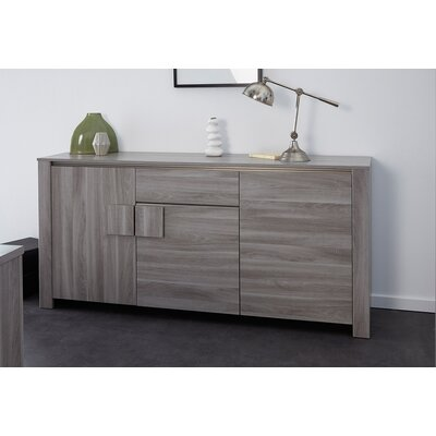 Warren Sideboard Color: Silex Oak