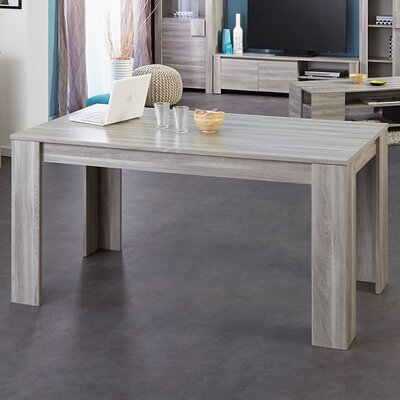 Warren Extendable Dining Table Finish: Silex Oak