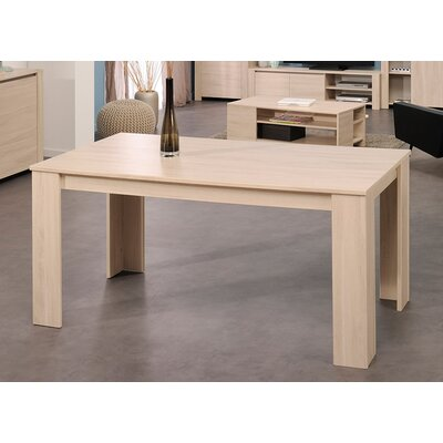 Welty Extendable Dining Table Finish: Sesame Oak