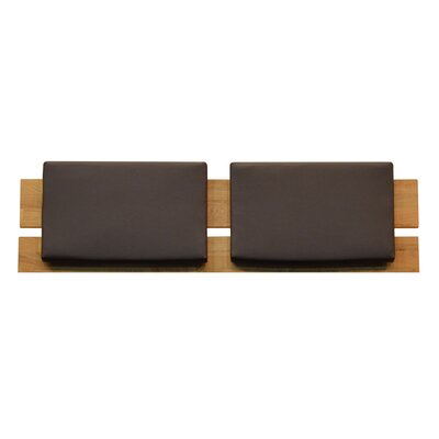 Woody Cushioned Queen Slat Headboard