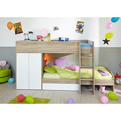 Stim Twin Over Twin Bunk Bed