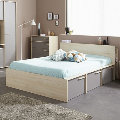 Connect Full/Double Storage Platform Bed